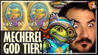 MECHEREL = GOD TIER! - Hearthstone Battlegrounds