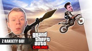 GTA Online Po Polsku - Z Rakiety Go! /Bladii /Paveł /Admiros || Plaga