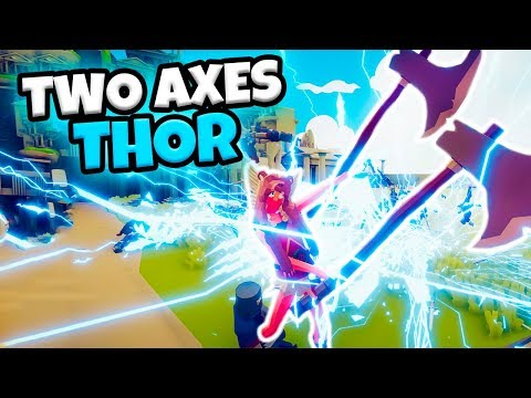 TWO AXES THOR VS EVERY FACTION |  MYTHOLOGY MOD TABS