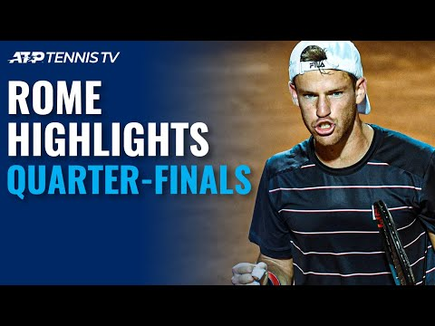 Schwartzman Shocks Nadal Djokovic Shapovalov Fight Through Rome 2020 Quarter Final Highlights Youtube