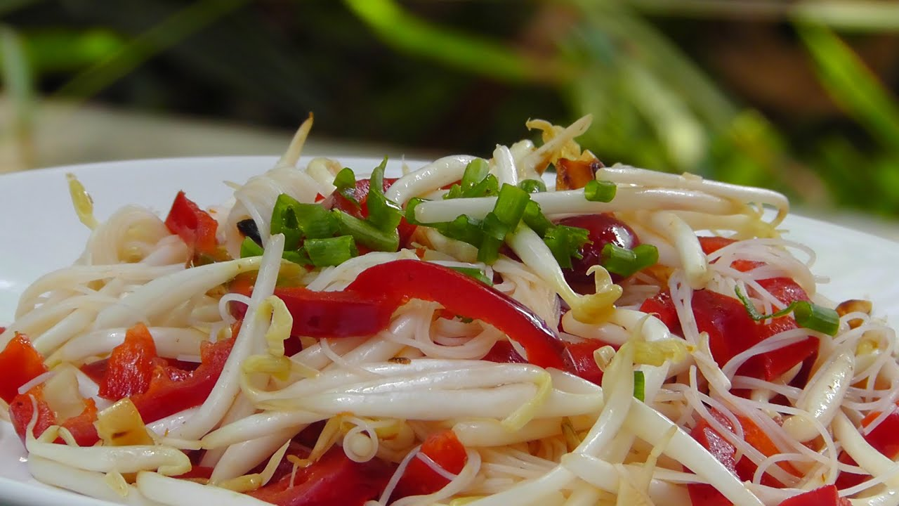 Image result for thai bean sprouts salad vegetarian