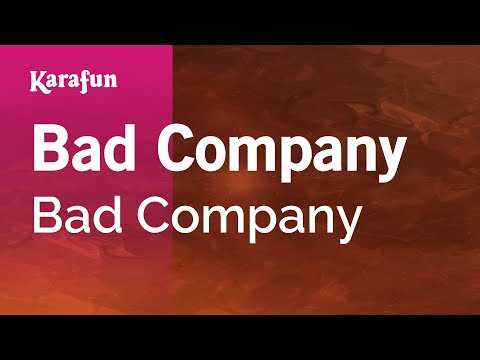 Karaoke Bad Company - Bad Company *