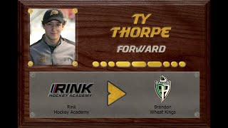 Ty Thorpe  - CSSHL to WHL | Stand Out Sports Client Hall of Fame