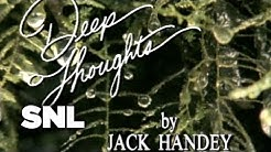 Deep Thoughts by Jack Handy: Mosquitoes - Saturday Night Live