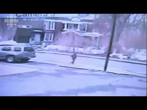 Cámaras de vigilancia (CCTV) captan al chico desaparecido en Montreal