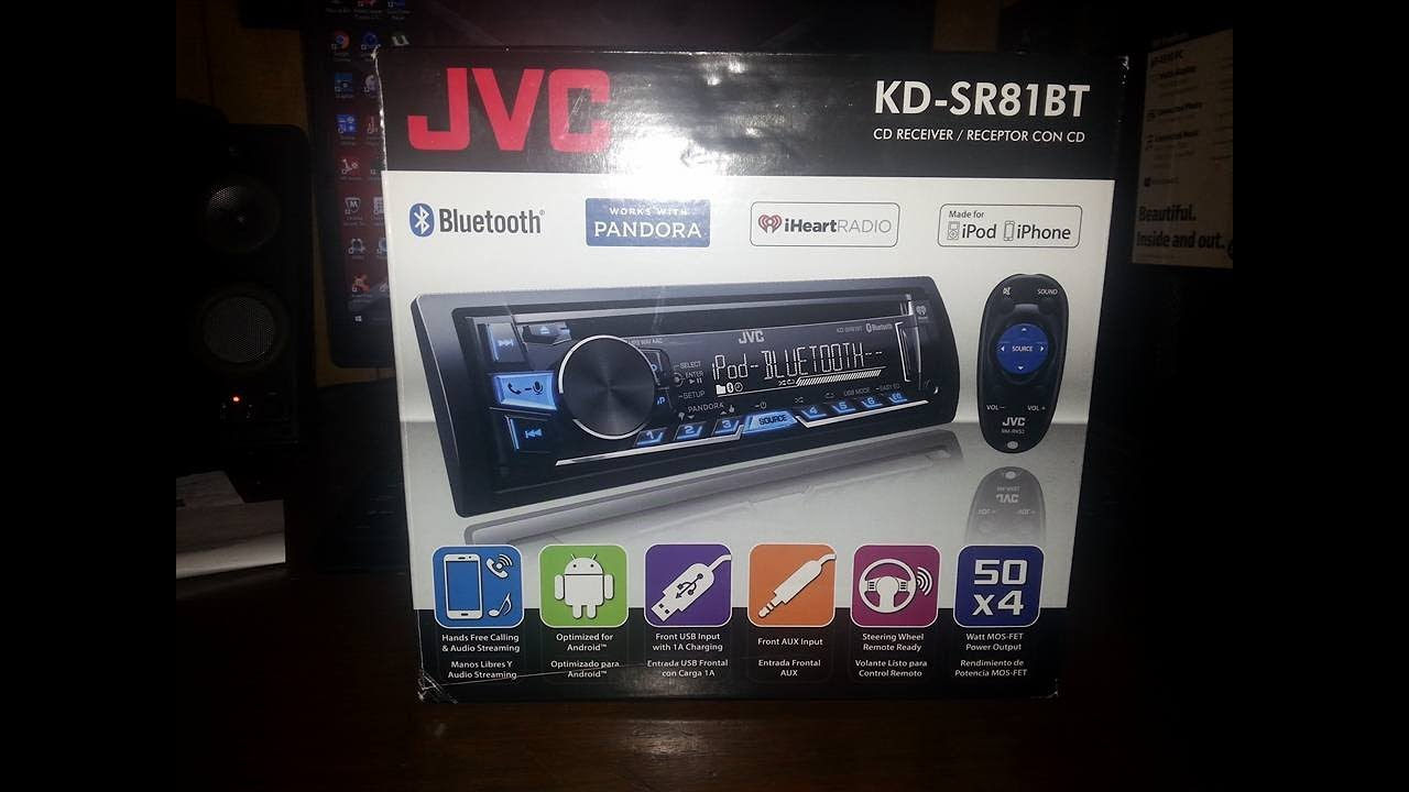 new radio for my jeep jvc kd sr81bt youtube rh youtube com