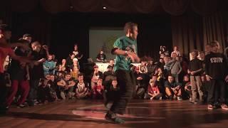 Finał kidz 5x5 na ROCKING STAR 16: Svao Kidz vs Avrora Bboys
