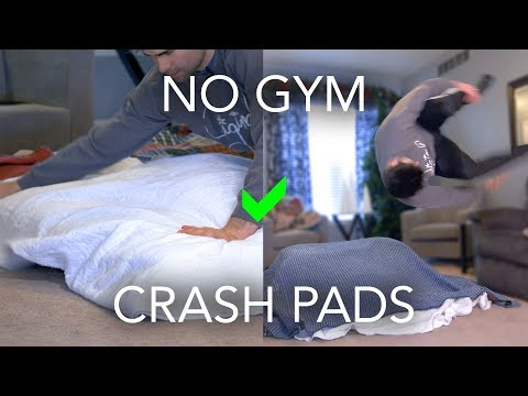 How to: Create Your Own Gymnastics Crash Pads at Home