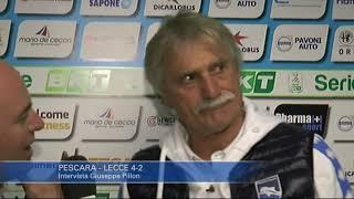Pescara - Lecce 4-2: Giuseppe Pillon