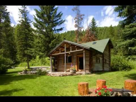 Charmant Bear Creek Log Cabin, Bozeman, Montana Adventure Vacation Rental