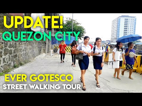 UPDATE! AYOS QUEZON CITY, EVER GOTESCO COMMONWEALTH AVENUE, STREET WALKING TOUR!