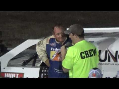 Ken Schrader Wins Modified Feature Dirt Oval at Route 66 June 27 2017
