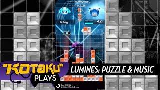 Kotaku Plays Lumines Mobile