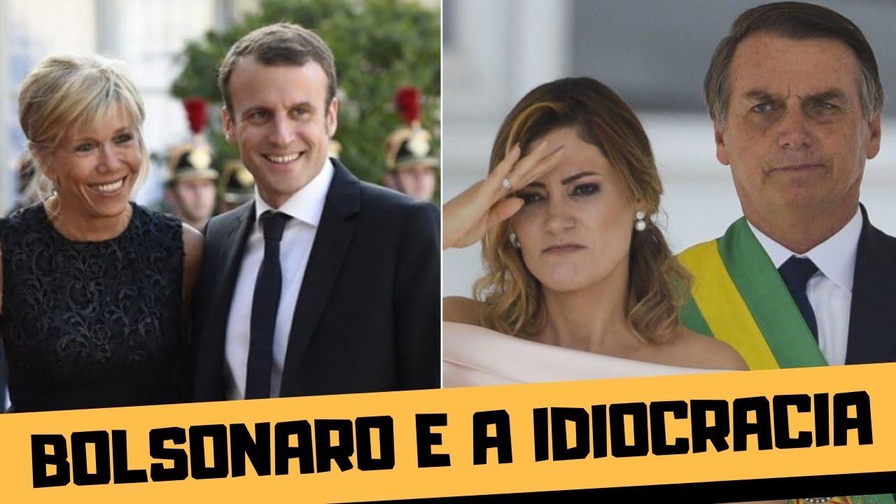 Bolsonaro Insulta A Esposa Do Macron Youtube