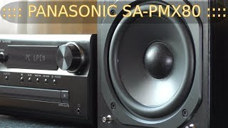 PANASONIC SA-PMX80 Review