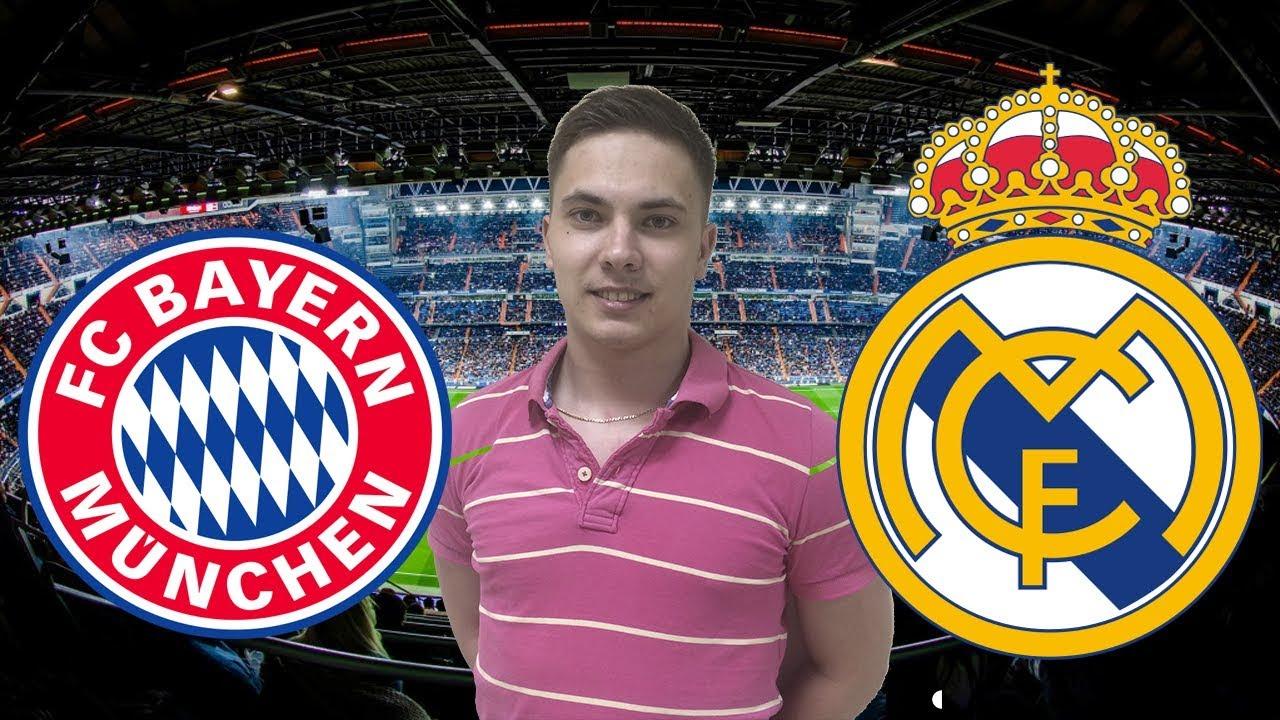 Прогноз на матч Бавария - Реал Мадрид 25 апреля 2018