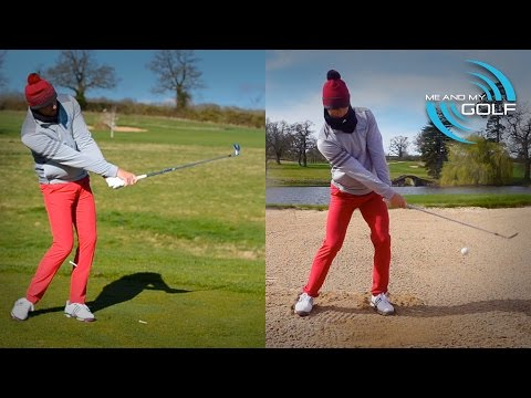 BUNKER SHOT vs FULL GOLF SWING