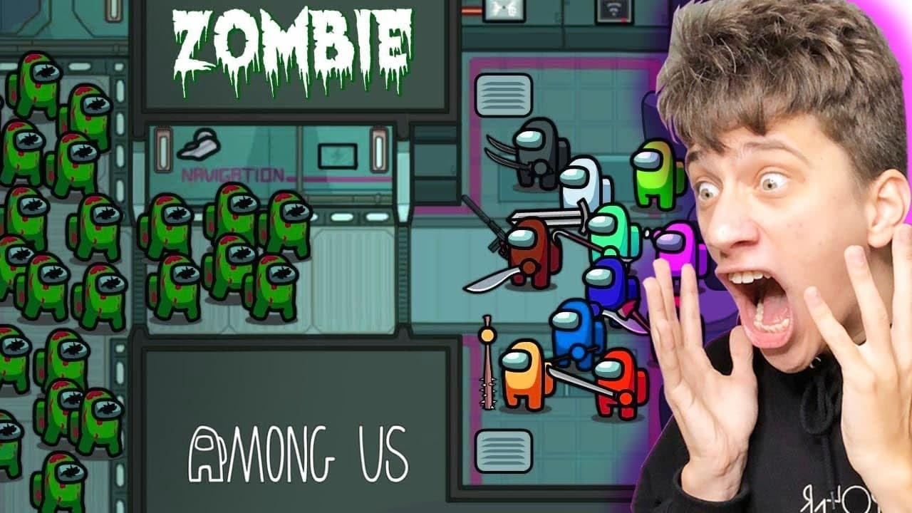 AMONG US, зомби атакуют  ! 🔥 , АМОНГ АС анимация  🔥