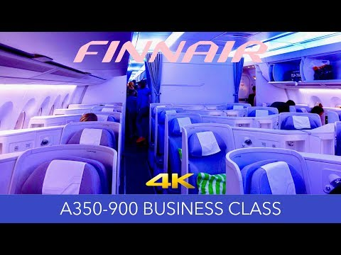 Cozy Nordic Flight Experience! Finnair A350 Business Class R
