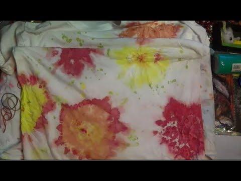 Diy Tie Dye Experiment