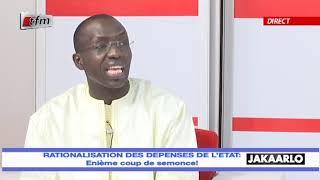 Jakaarlo bi du 21 Février 2020 - Rationalisation des dépenses de l'Etat
