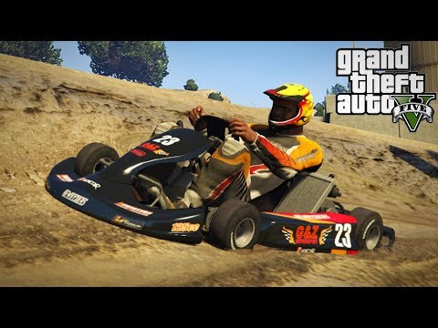 NEW RACING GO KART MOD! Dirt Track & Off-Roading! (GTA 5 PC Mods)
