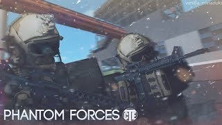 New weapon in the PF!! Roblox Phantom Forces CZ/vastakon/