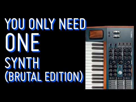 Making a full track using only the Arturia PolyBrute