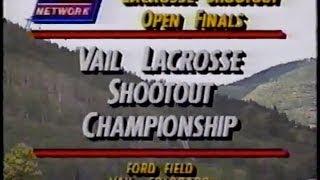 Old Skool Lacrosse: Vail 92 finals Mount Washington Tavern vs. FCA
