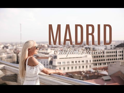 MADRID OUTFIT DIARIES //  How To Spend 48 Hours in Madrid //   Fashion Mumblr Spain Travel Vlog