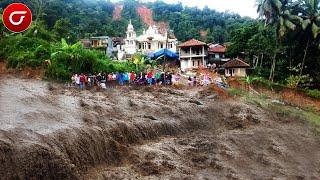 Banyuwangi Berduka!! Banjir Bandang Dan Longsor Terjang Kabupaten Banyuwangi, Warga Panik