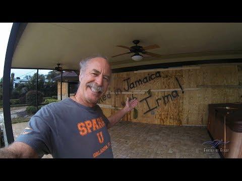 Hurricane Irma Visits Fantasy of Flight - Kermie Cam