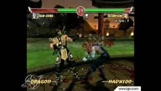 Mortal Kombat: Deadly Alliance GameCube Gameplay -