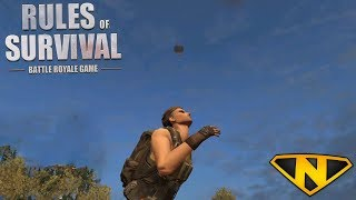 Air Drop Only Challenge! (Rules of Survival: Battle Royale #30)