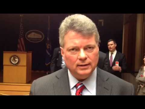 Mississippi Attorney General Jim Hood on S&P settlement, 2/3/2015