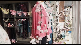 Our Spring Cherry Blossom Window Display and Shop Tour thumbnail