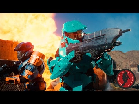 The Greatest Halo Movie Never Made - Sarge v Tucker