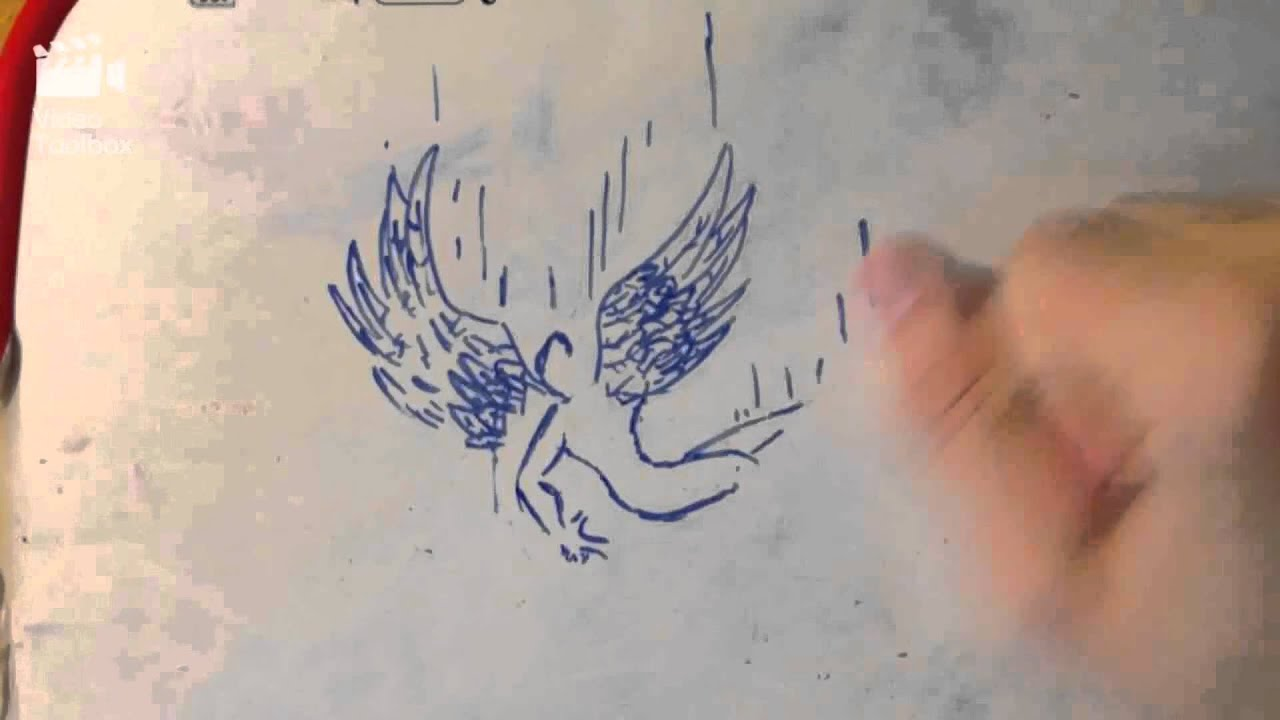 Reversed draw falling angel youtube reversed draw falling angel altavistaventures Choice Image
