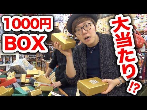 【大当たり!?】ラッキーボックス(金の1000円BOX)デビューしてみた!