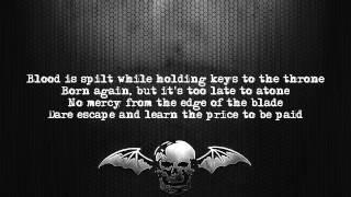 Avenged Sevenfold - Hail To The King [Lyrics on screen] [Full HD]