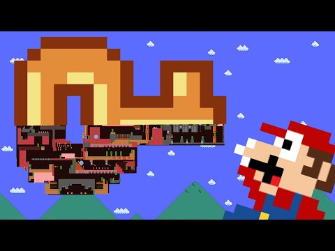 Mario VS Doors : Way Out Of The Giant Key Maze !!