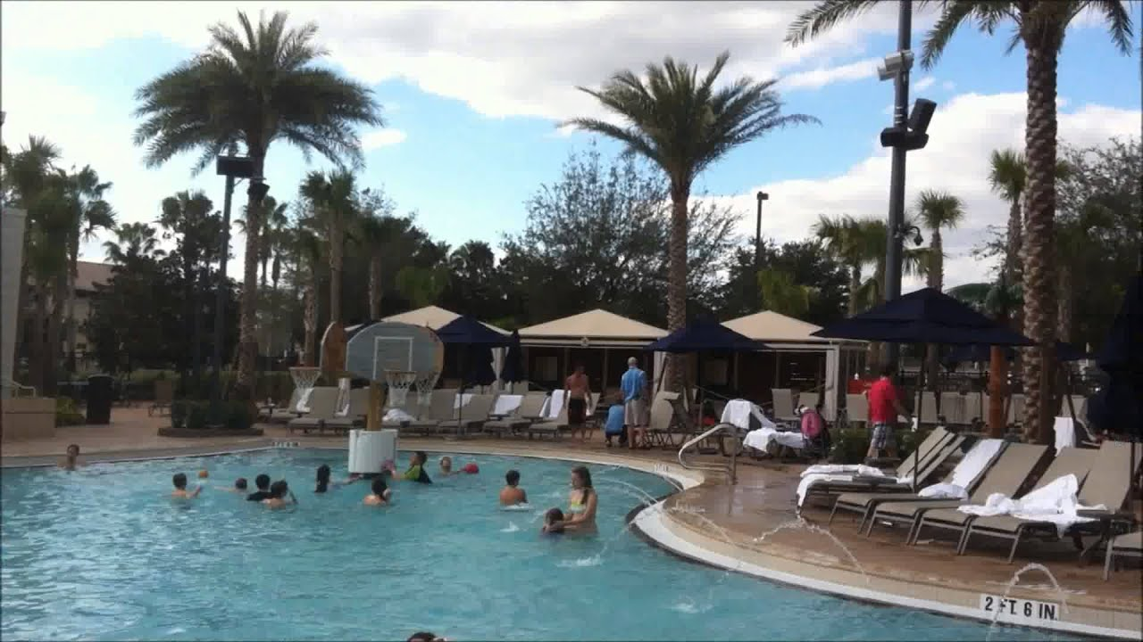 Gaylord Palms Swimming Pools Youtube