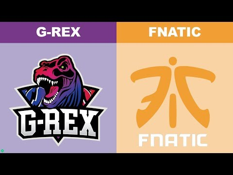GRX Vs Fnatic - Worlds 2018 Group Stage Day 4 - G-Rex Vs FNC