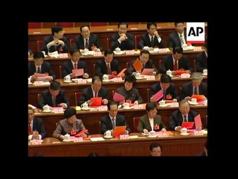 Hu Jintao re-elected as China's president, Xi Jinping appointed VP