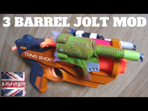 Awesome Nerf Jolt Mod From FoamDagr: The Tang Shock Tribute Nerf Mod!
