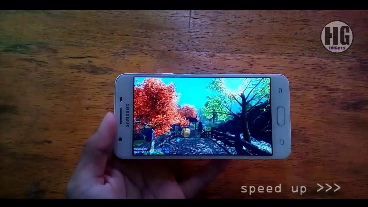 Tes Antutu Di Samsung Galaxy J5 Prime Youtube