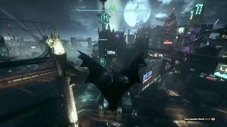 Batman Arkham Knight (PS4) - Game bug from nowhere lol