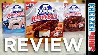 Klondike Kandy Bars Ice Cream Video Review: Freezerburns (Ep641)