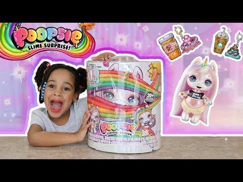 Opening Poopsie Unicorn Slime Surprise!