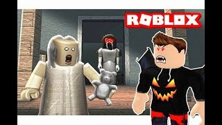 the wicked Granny Granny Dim of Dracula in the roblox game! 😈🔥